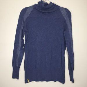 Löle turtle neck long sleeve sweater w/pattern